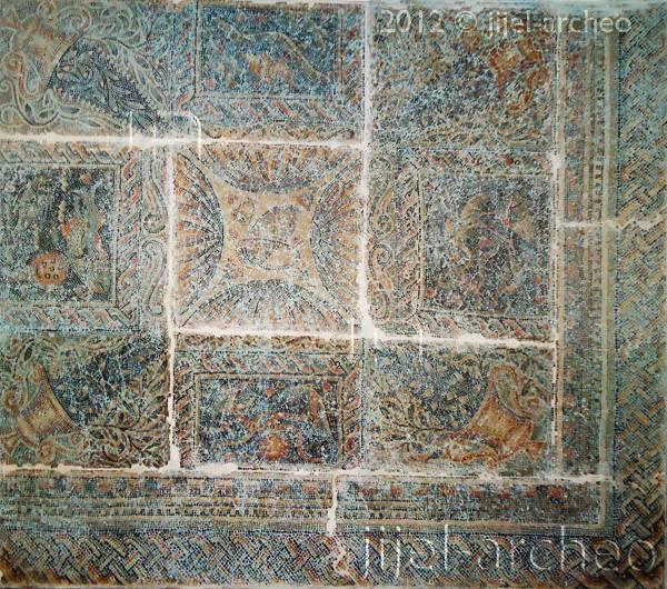 La mosaïque d'El Akbia